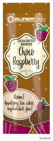 Supertan Choco Raspberry 15 ml szoláriumkrém