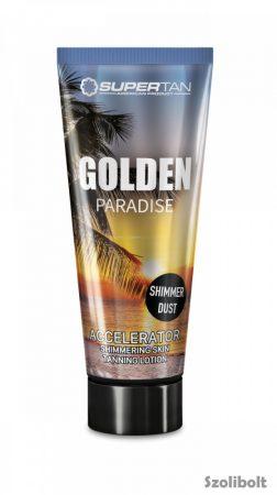 Supertan Golden Paradise Accelerator 200 ml szoláriumkrém