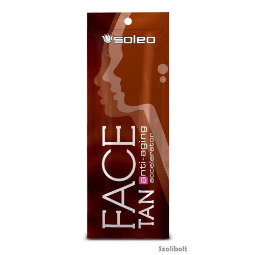 Soleo FaceTan Anti-aging accelerator 5ml szoláriumkrém