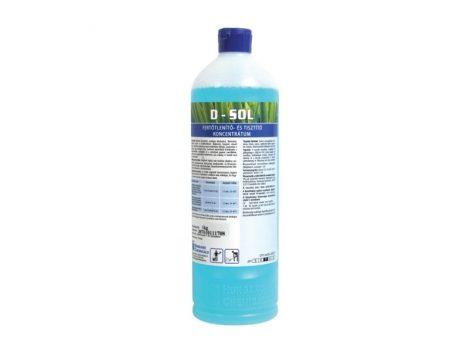 D-Sol szolárium fertőtlenítő koncentrátum 1000 ml