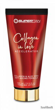 Supertan Collagen in Love Accelerator 150 ml szoláriumkrém