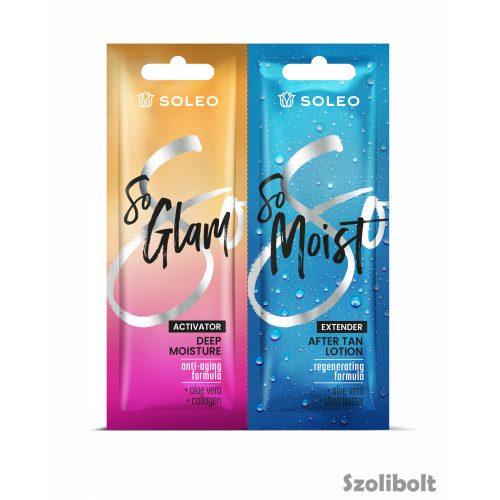 Soleo So Glam + So Moist 15 + 15 ml szoláriumkrém