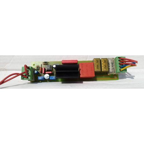 Ergoline szolárium ventilátor fordulatszámszabályzó alkatrész