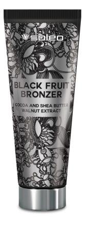 Soleo Black Fruit Bronzer 200ml szoláriumkrém
