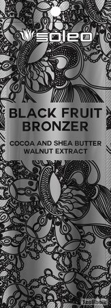 Soleo Black Fruit Bronzer 15 ml szoláriumkrém