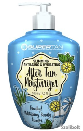 Supertan 3 in 1 Moisturizer 500 ml flakonos testápoló