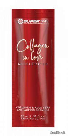 Supertan Collagen in Love Accelerator 15 ml szoláriumkrém