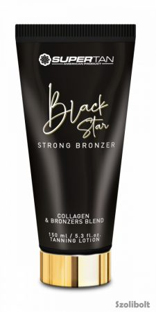 Supertan Black Star Strong Bronzer 150 ml szoláriumkém