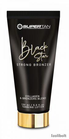 Supertan Black Star Strong Bronzer 150 ml szoláriumkém