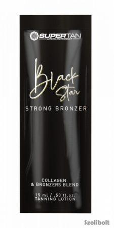 Supertan Black Star Strong Bronzer 15 ml szoláriumkém