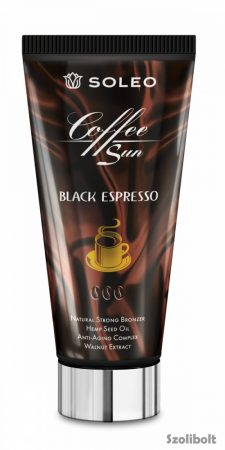 Soleo Black Espresso 150 ml szoláriumkrém