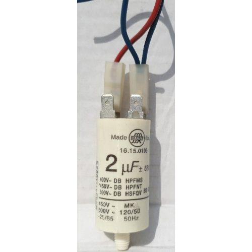 Ergoline szolárium motorindító kondenzátor 2 μF alkatrész