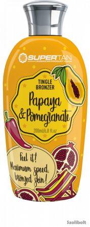 Supertan Papaya & Pomegranate 200 ml szoláriumkrém