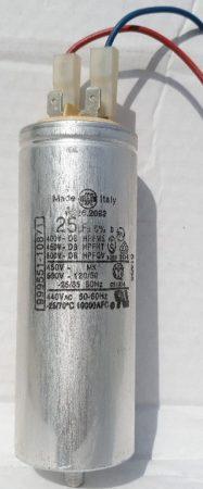 Soltron szolárium motorindító kondenzátor 25 μF alkatrész