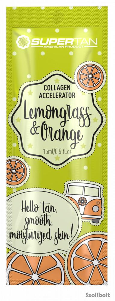 Supertan Lemongrass & Orange 15 ml szoláriumkrém