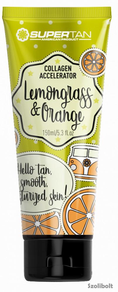 Supertan Lemongrass & Orange 200 ml szoláriumkrém